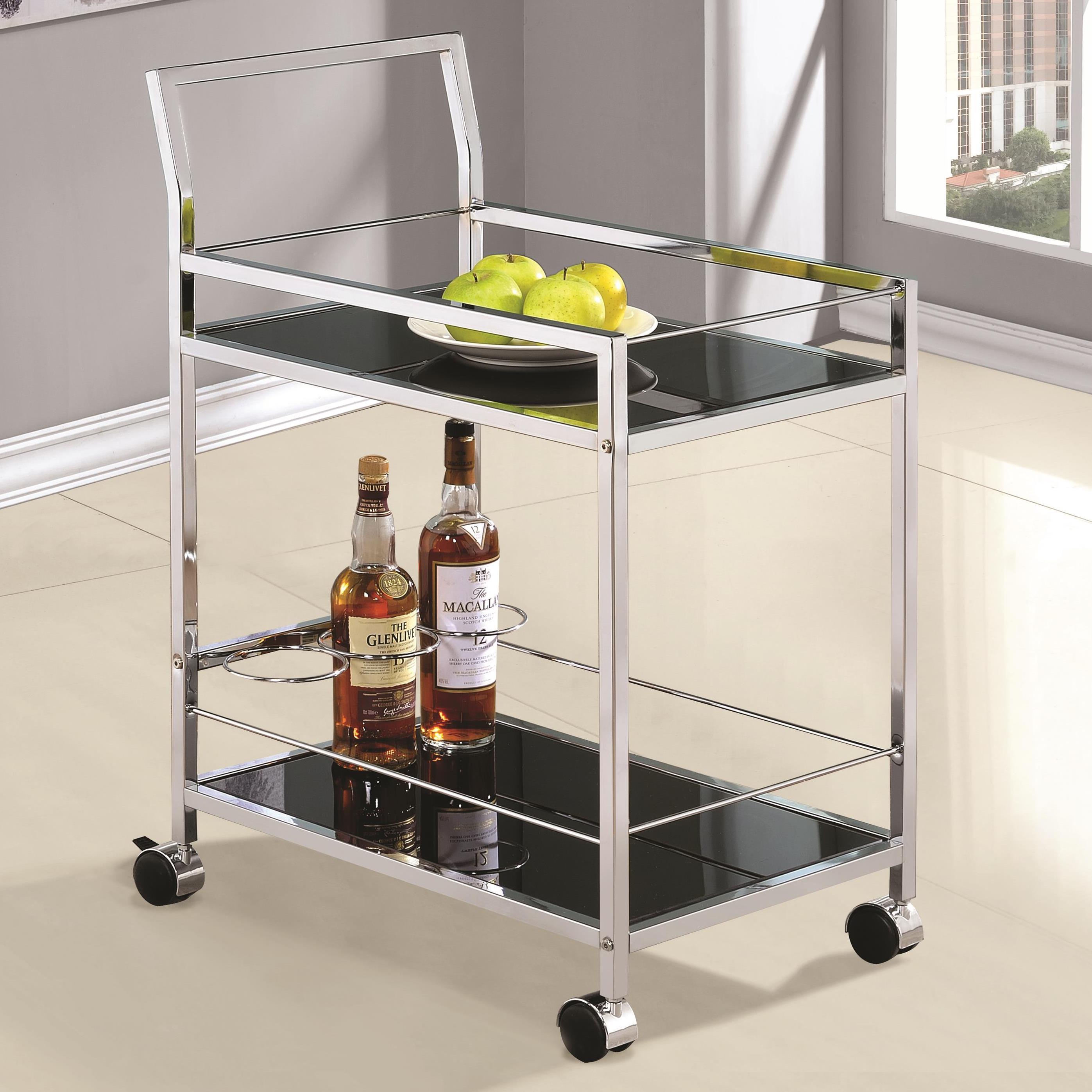 Coaster Kitchen Carts Serving Cart - Item Number: 910132