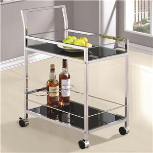 Coaster Kitchen Carts Serving Cart