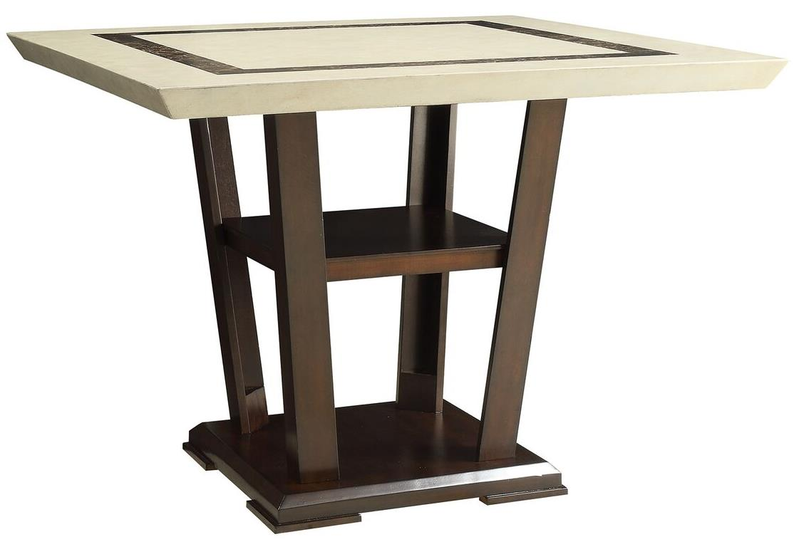 Coaster Lacombe Counter Heightt Table - Item Number: 105848