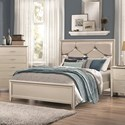 Coaster Lana Queen Bed with Upholstered Headboard - Item Number: 205181Q