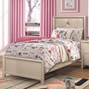 Coaster Lana Twin Bed with Upholstered Headboard - Item Number: 205181T
