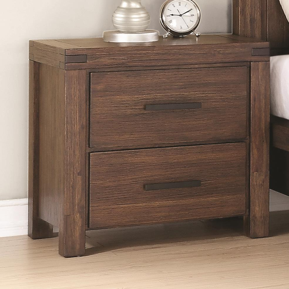 Coaster Lancashire Nightstand - Item Number: 204112