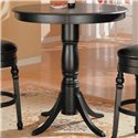 Coaster Lathrop Classic Round Bar Table with Pedstal Base - 100278