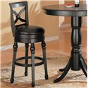 "Coaster Lathrop 29"" Bar Stool - Item Number: 100279"