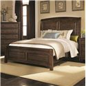 Coaster Laughton Casual Queen Sleigh Bed - 203260Q - Bed Shown May Not Represent Size Indicated