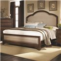 Coaster Laughton Casual Queen Upholstered Bed - 203261Q - Bed Shown May Not Represent Size Indicated