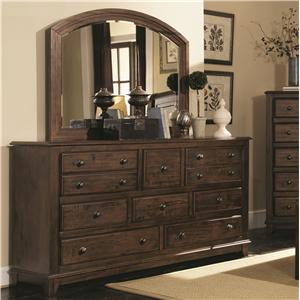 Coaster Laughton Dresser and Mirror