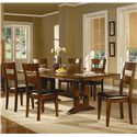 Coaster Lavista Side Chair w/ Upholstered Seat - Chair Shown with Table