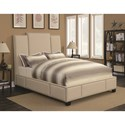 Coaster Lawndale Queen Bed - Item Number: 300796Q