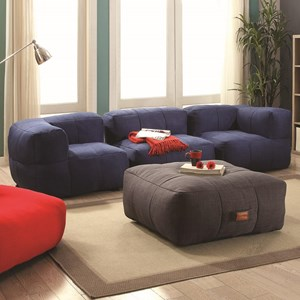 Coaster Lazy Life Sectional Group