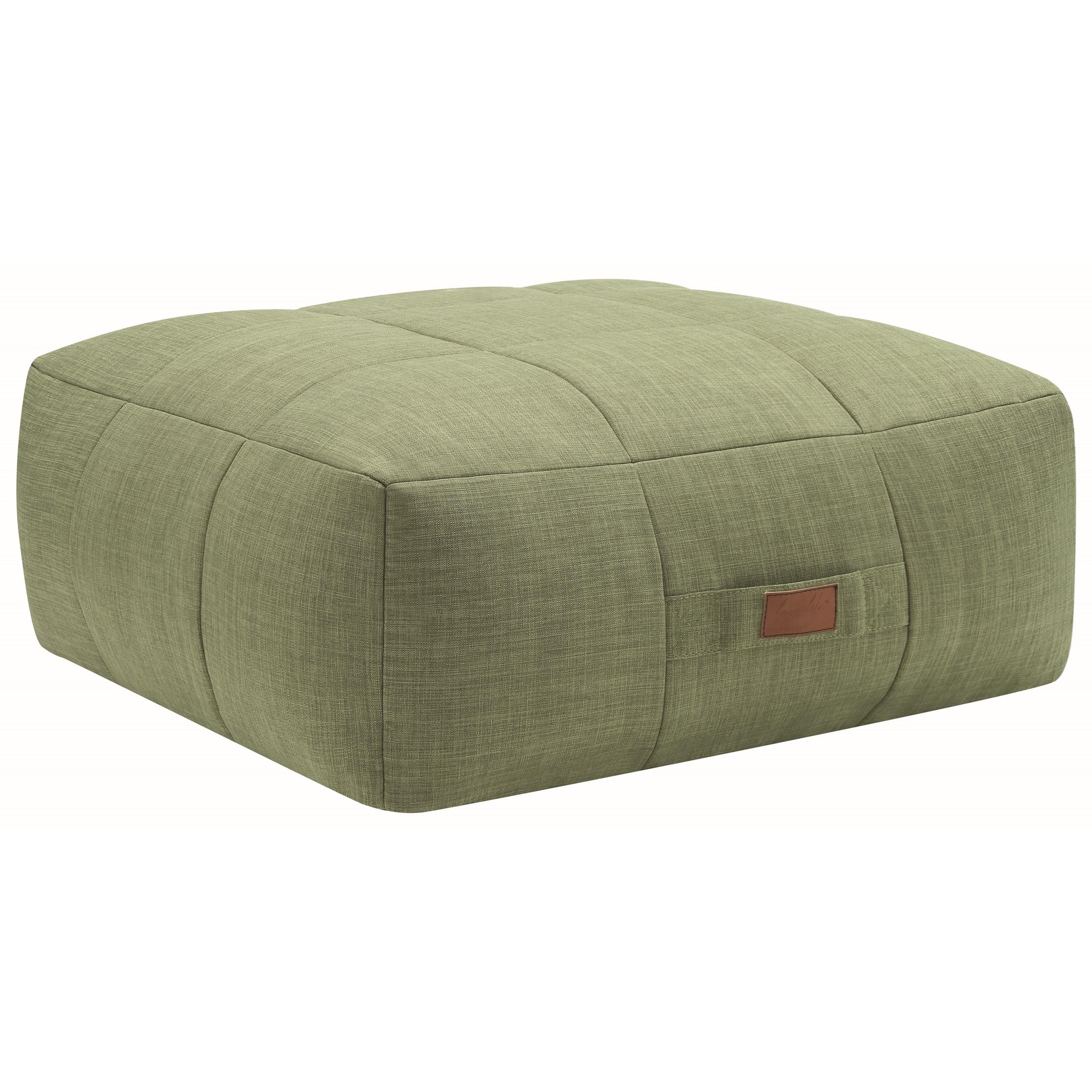 Coaster Lazy Life Ottoman - Item Number: 904020