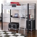 Coaster LeClair Twin Loft Bed - Item Number: 460821