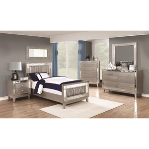 Coaster Leighton Twin Bedroom Group