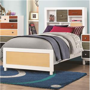 Coaster Lemoore Full Bookcase Bed