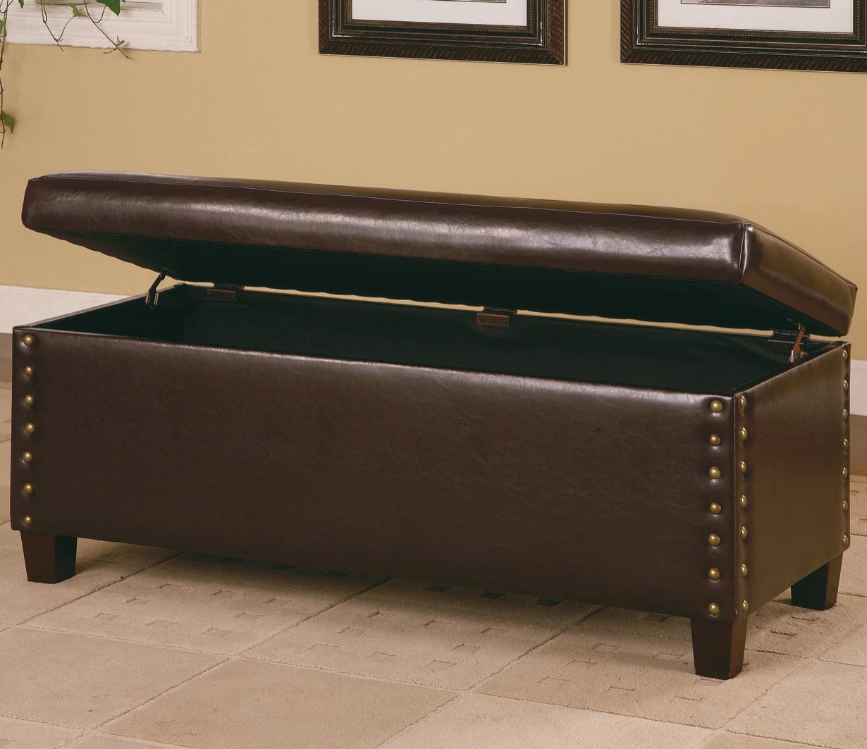Coaster Lewis Storage Bench - Item Number: 300378