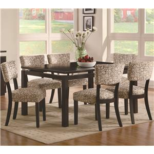 Coaster Libby 7 Piece Table & Chair Set