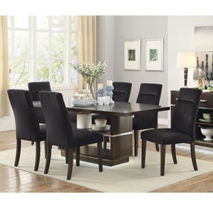 Coaster Lincoln Table and Chair Set