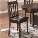 Coaster Lavon Dining Side Chair With Padded Vinyl Seat - 102672