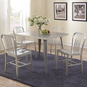 Coaster Lipscomb Counter Height Table and Stool Set