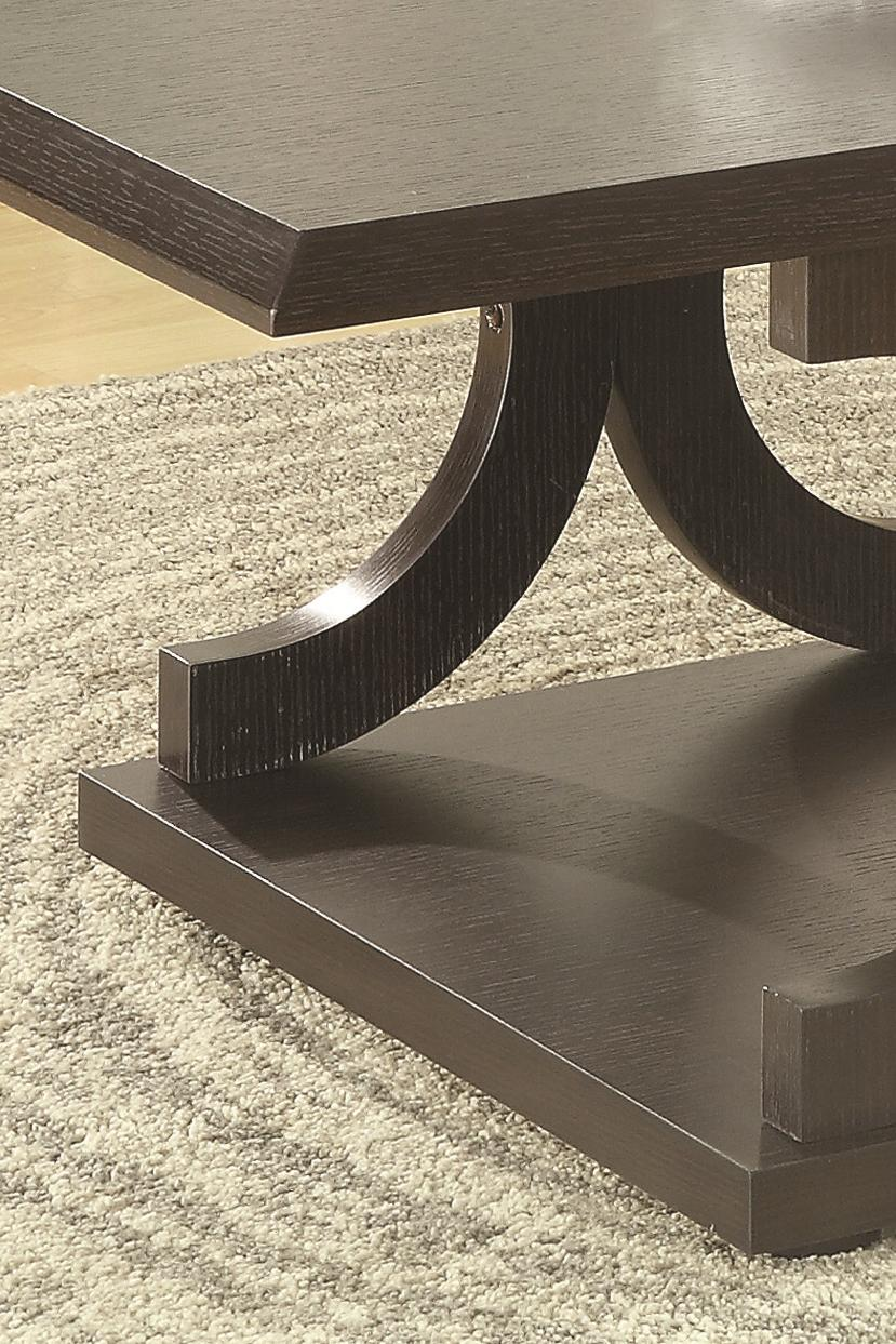 Coaster 703140 C Shaped Coffee Table Value City