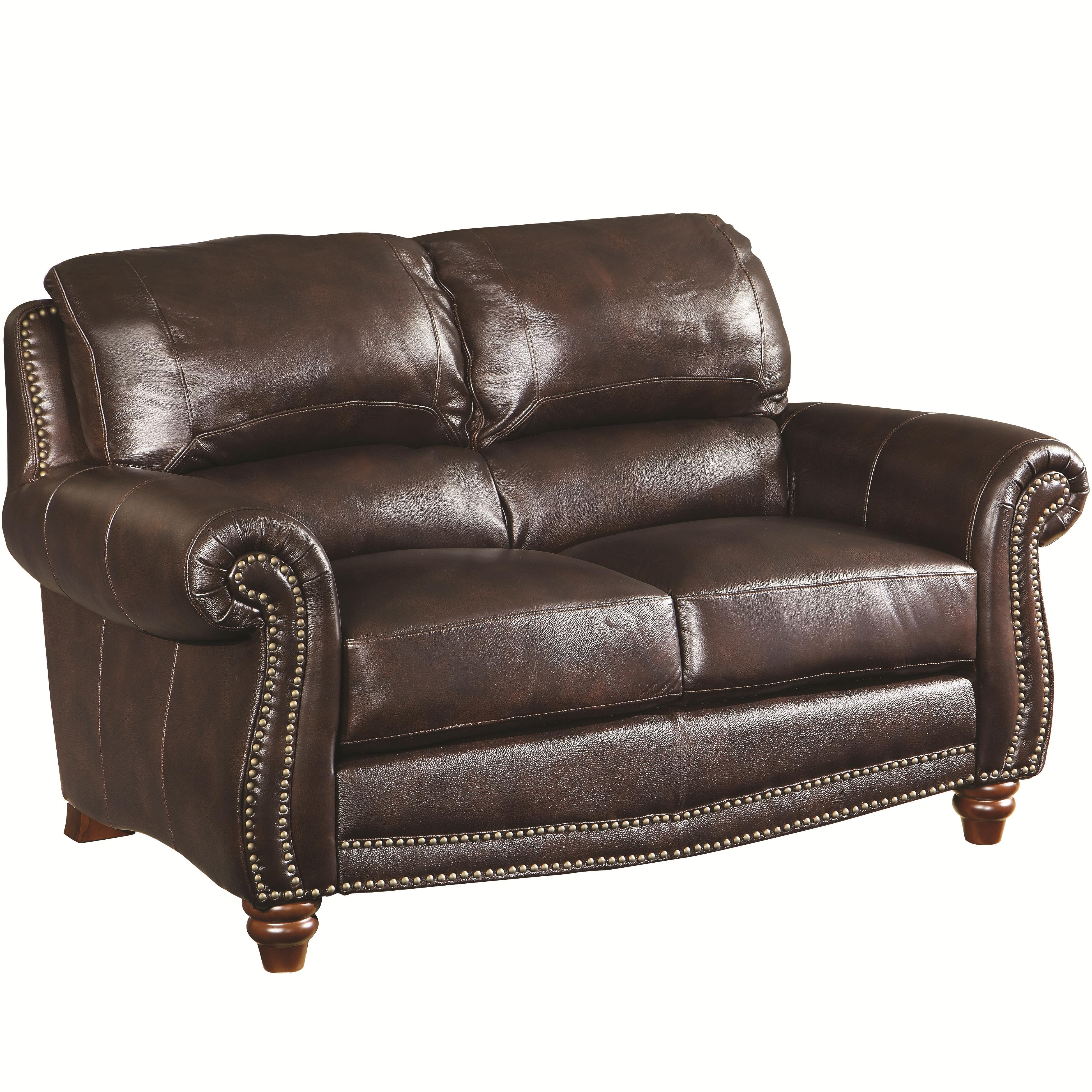 Coaster Lockhart Traditional Love Seat - Item Number: 504692