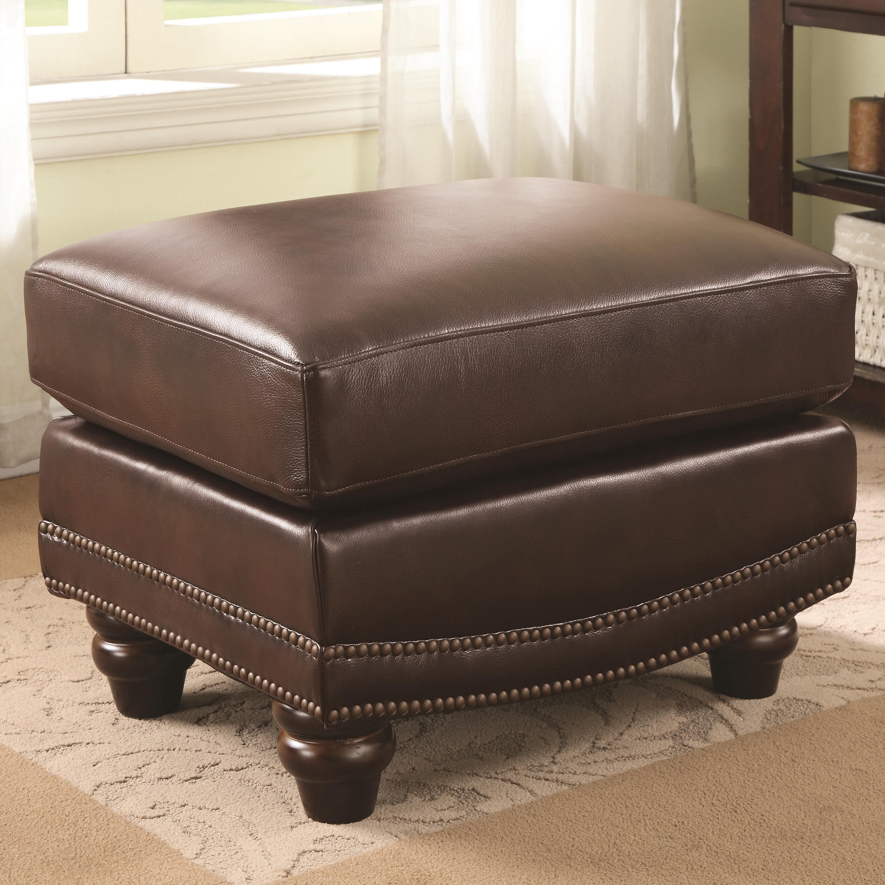 Coaster Lockhart Ottoman - Item Number: 504694