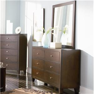 Coaster Lorretta Dresser and Mirror