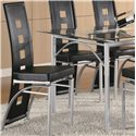 Coaster Los Feliz Dining Chair (Black)