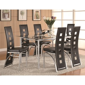 Coaster Los Feliz Counter Height Dining Set