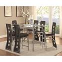 Coaster Los Feliz Contemporary Counter Height Table