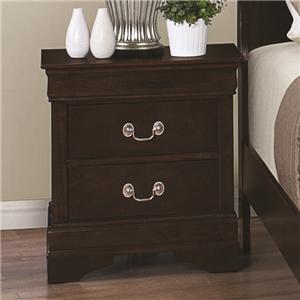 Coaster Louis Philippe 202 Night Stand