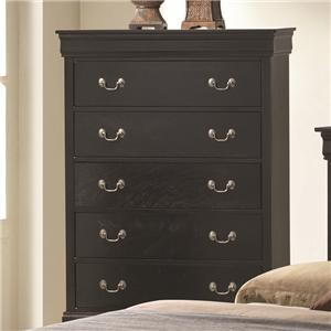 Coaster Louis Philippe Chest