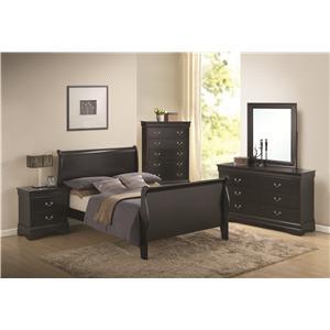 Coaster Louis Philippe Queen Bedroom Group