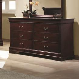 Coaster Louis Philippe Drawer Dresser - Item Number: 203973