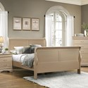 Coaster Louis Philippe Queen Sleigh Bed - Item Number: 204421Q