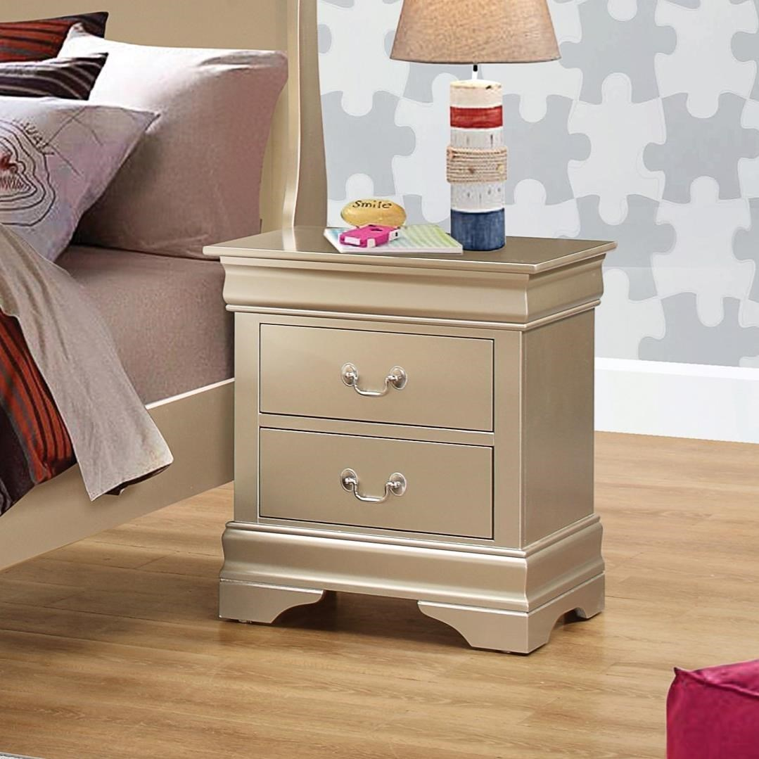 Coaster Louis Philippe Night Stand - Item Number: 204422