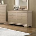 Coaster Louis Philippe Drawer Dresser - Item Number: 204423