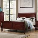 Coaster Louis Philippe King Bed - Item Number: 222411KE