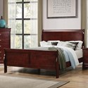 Coaster Louis Philippe Queen Bed - Item Number: 222411Q