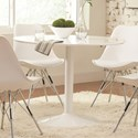 Coaster Lowry Round Dining Table - Item Number: 105261