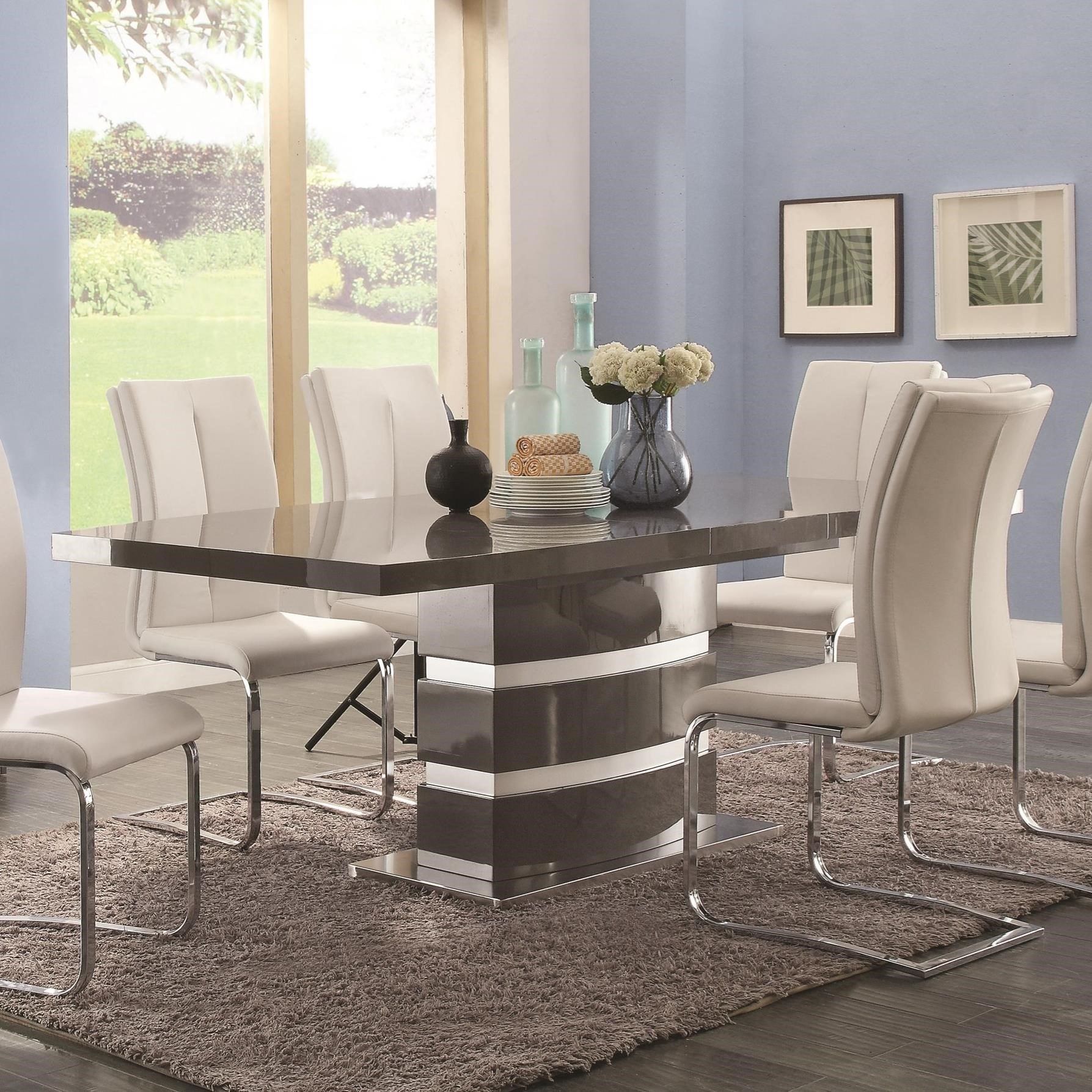 Coaster Lowry Dining Table - Item Number: 107001