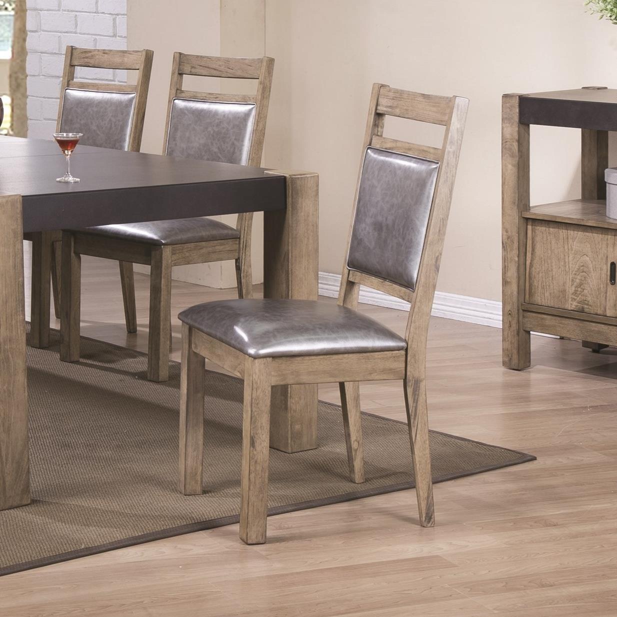 Coaster Ludolf Upholstered Side Chair - Item Number: 107132