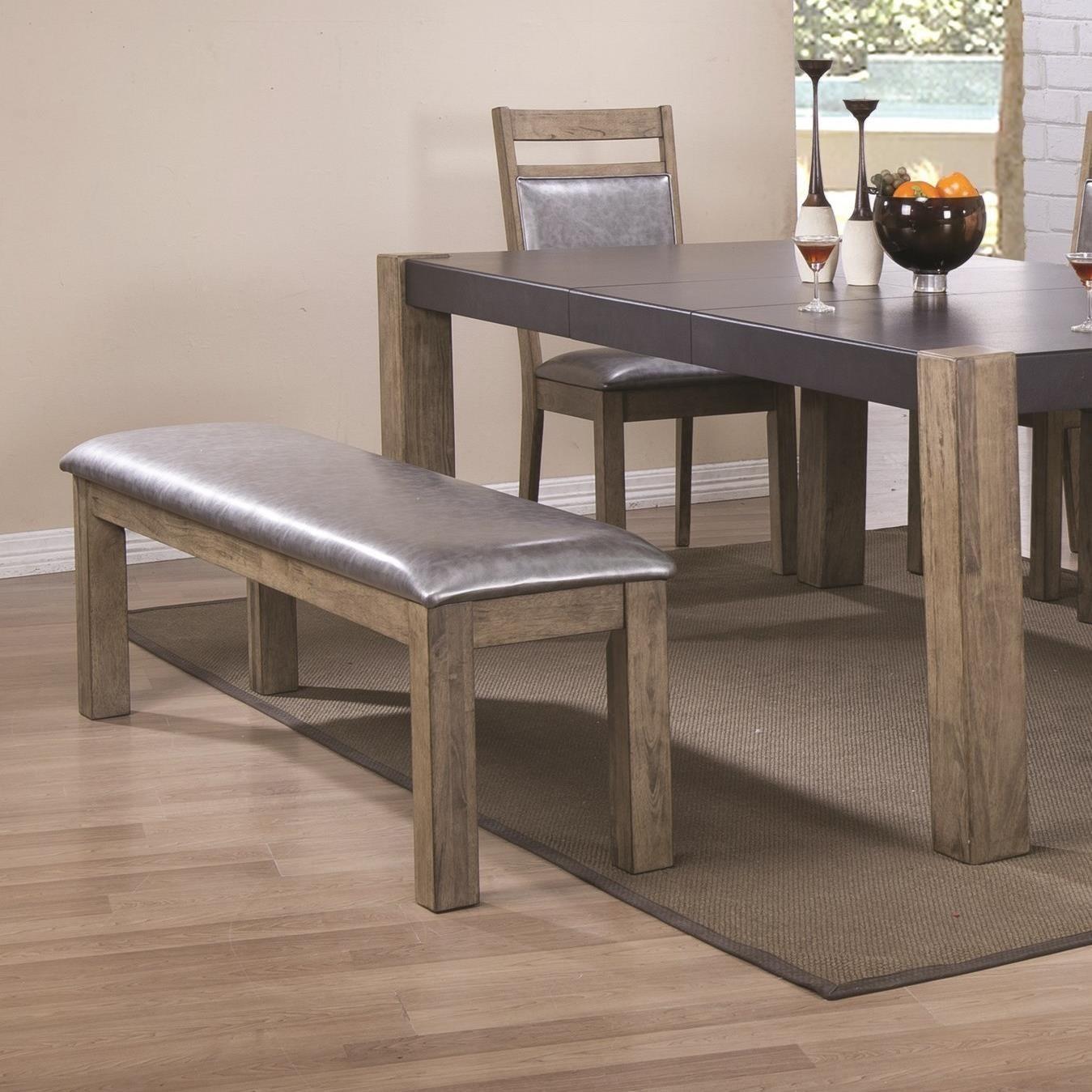 Coaster Ludolf Upholstered Dining Bench - Item Number: 107133