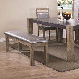 Coaster Ludolf Upholstered Dining Bench