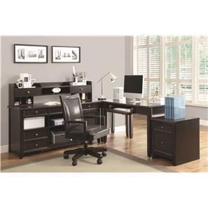 Coaster Maclay L-Shaped Desk