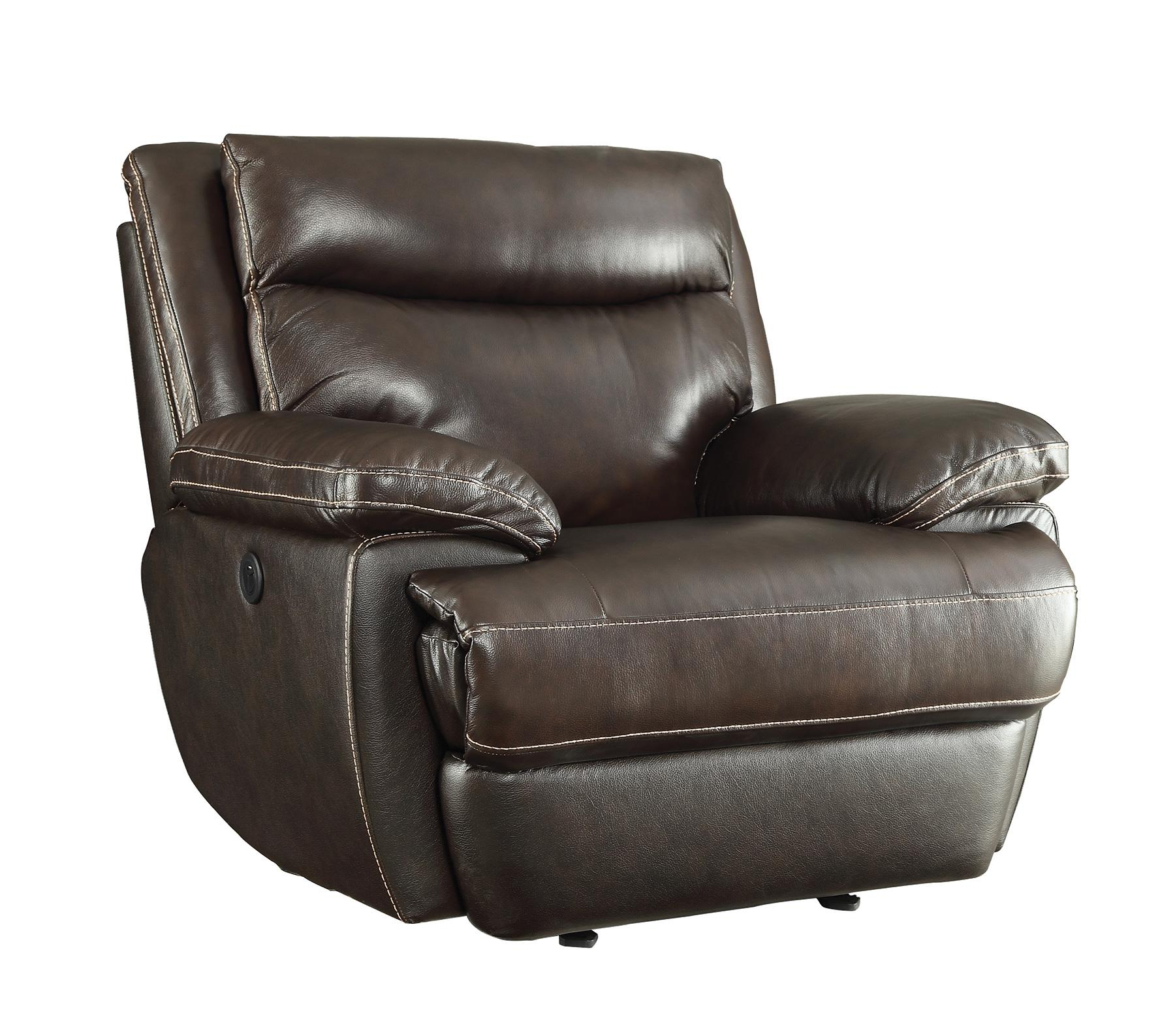Coaster Macpherson 601813p Casual Power Recliner With