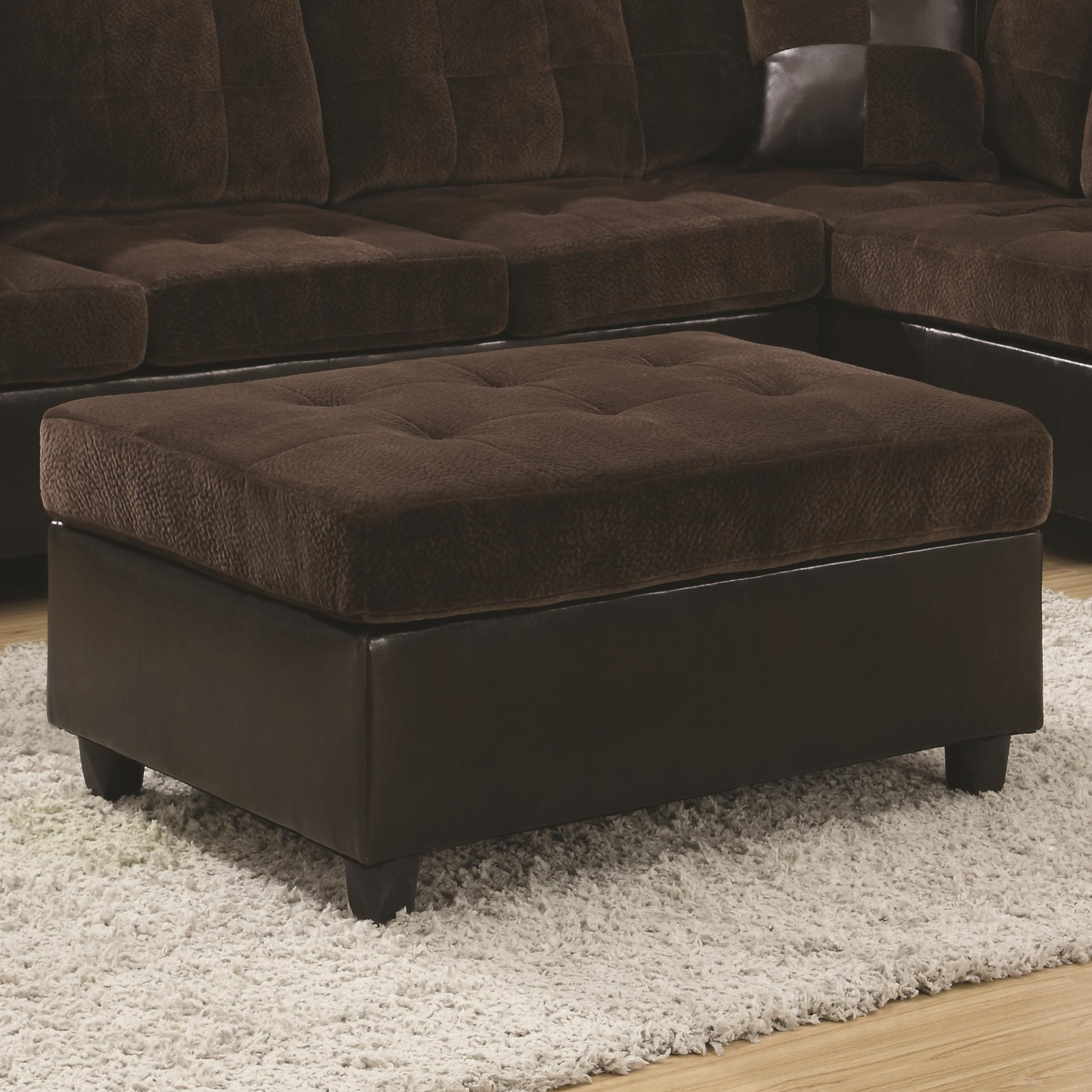 Coaster Mallory  Ottoman - Item Number: 505646