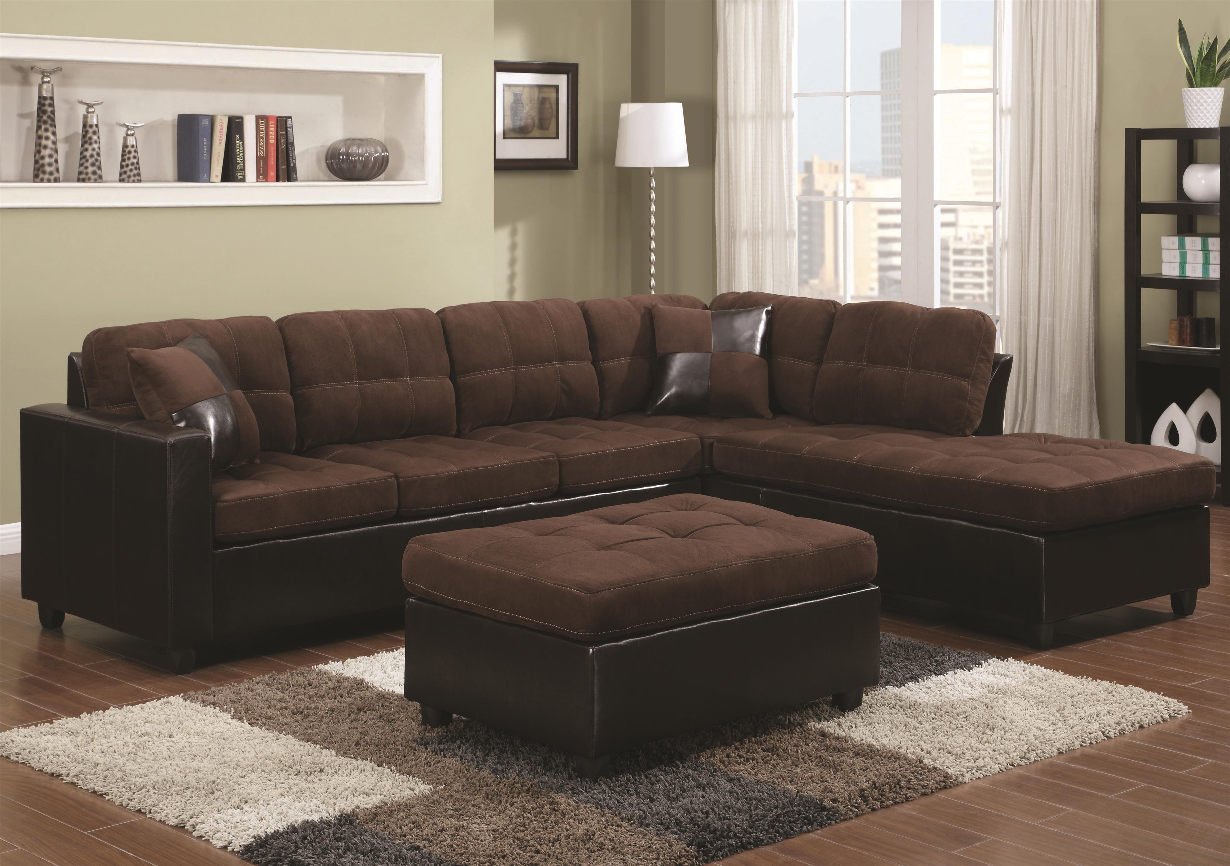 Coaster Mallory  Sectional - Item Number: 505655