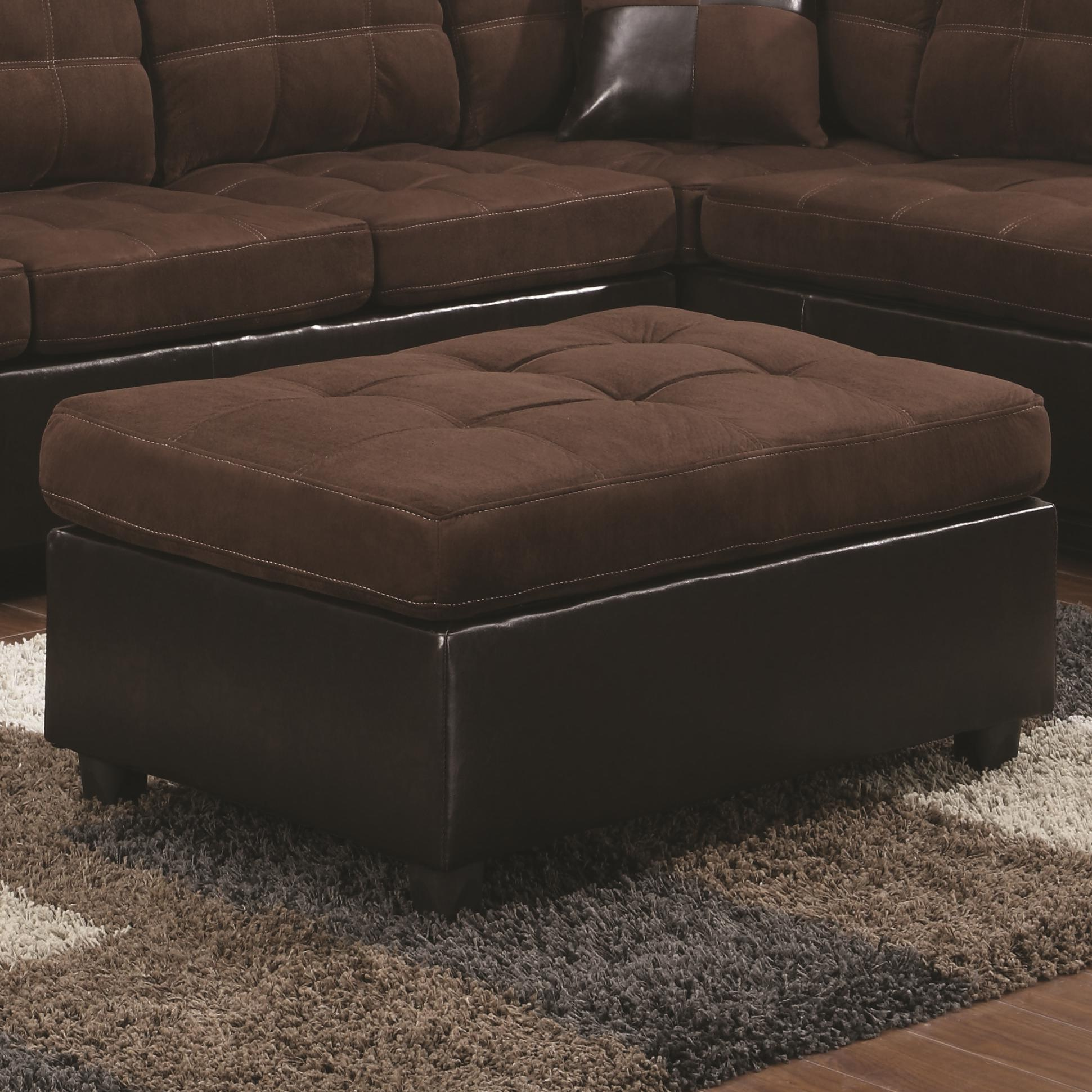 Coaster Mallory  Ottoman - Item Number: 505656
