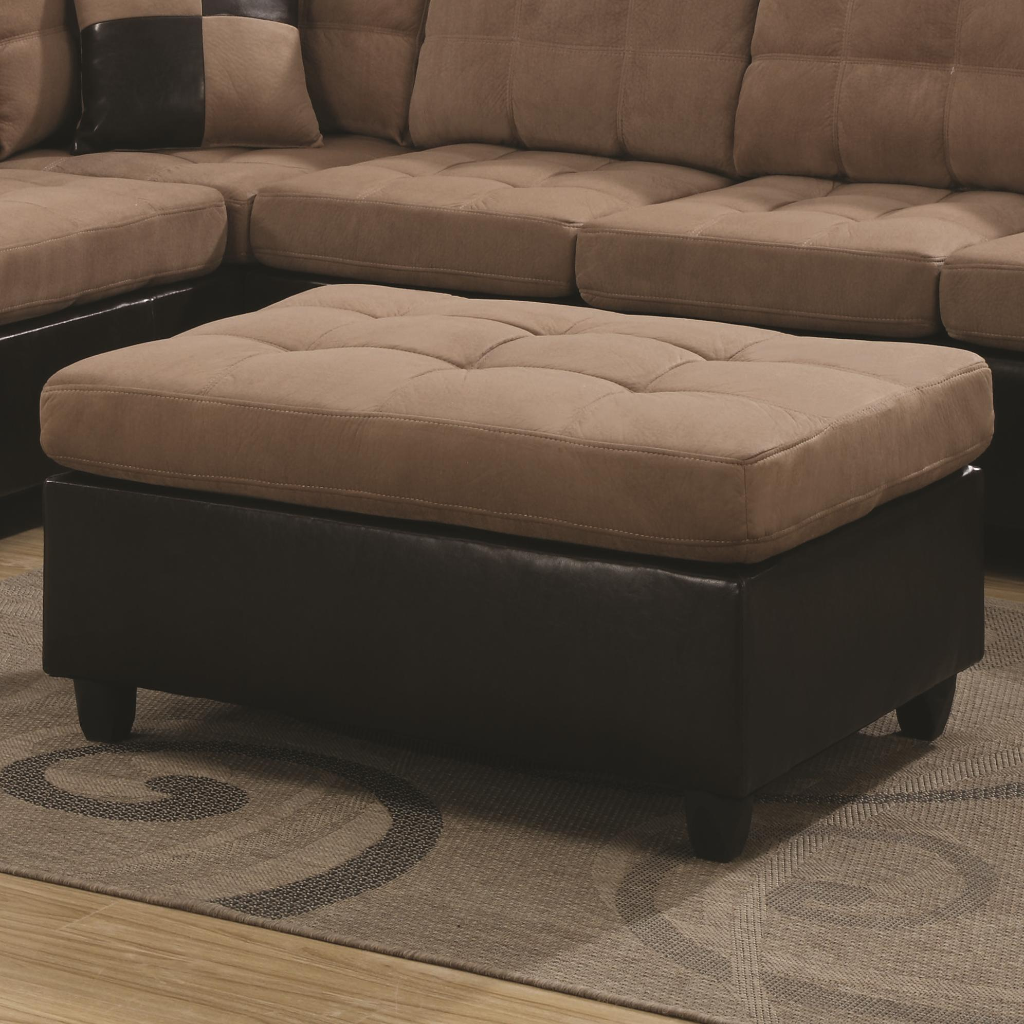Coaster Mallory Ottoman - Item Number: 505676